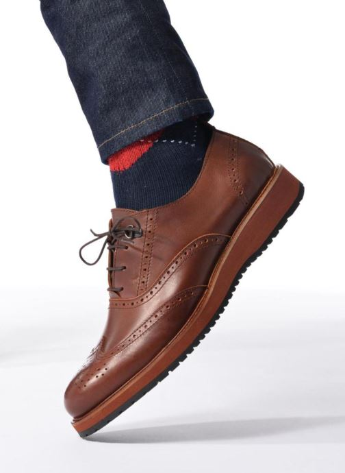 Zapatos con cordones Mr SARENZA Sulivan Marrón vista de abajo