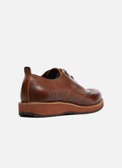Zapatos con cordones Mr SARENZA Sulivan Marrón vista de frente