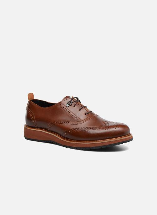 Zapatos con cordones Mr SARENZA Sulivan Marrón vista lateral derecha