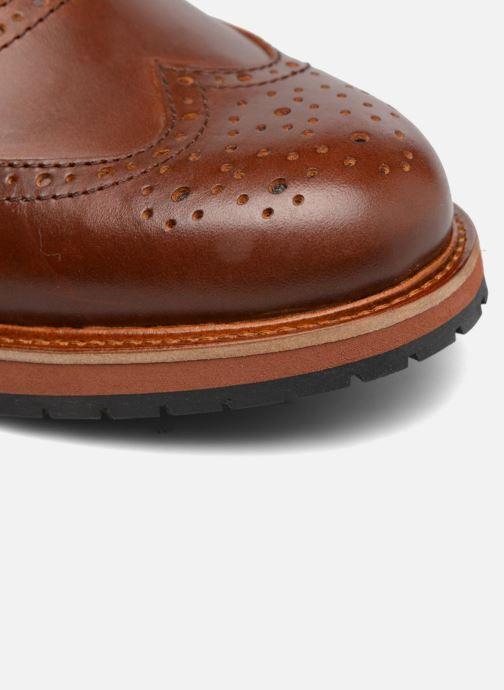 Zapatos con cordones Mr SARENZA Sulivan Marrón vista lateral izquierda