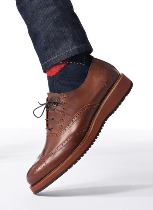 Noir Mr À Lacets Sulivan Sarenza Chaussures L5RAj34