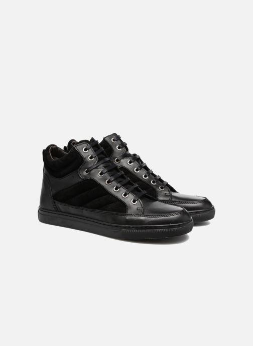 Sneakers Mr SARENZA Sven Zwart achterkant