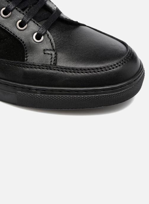 Sneakers Mr SARENZA Sven Nero immagine sinistra