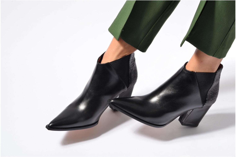 Bottines et boots Elizabeth Stuart Lima 133 Noir vue bas / vue portée sac