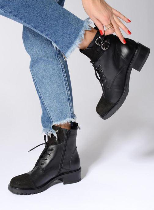 Bottines Noir Elizabeth Et 297 Boots Eter Stuart EbWYDeH29I