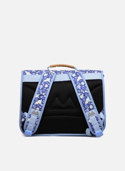 Scolaire Poids Plume Cartable 38cm Liberty Bleu vue face