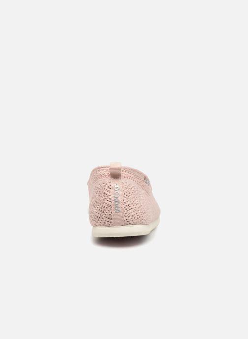 the latest 24cd5 2bb77 Baskets Skechers Plush Lite Rose vue droite