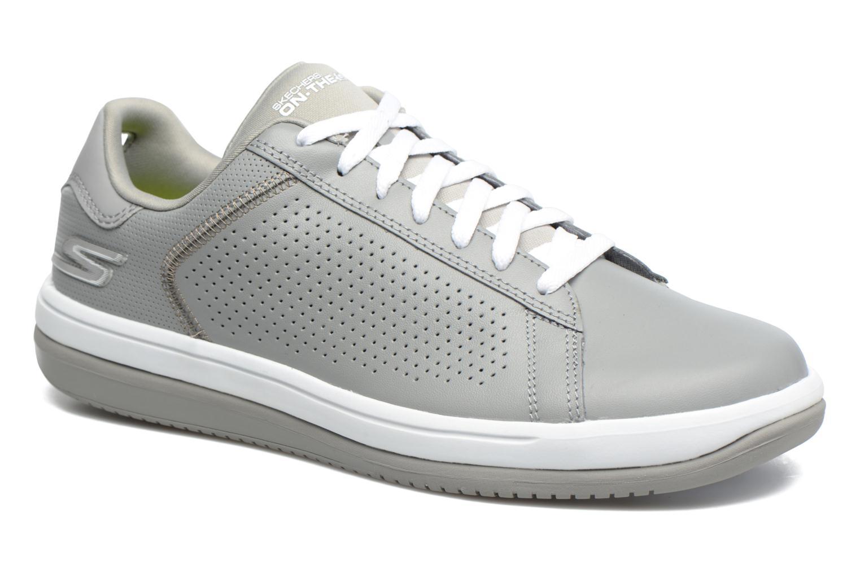 Skechers On the Go - Raise (Gris) - Baskets en Más cómodo Dernières chaussures discount pour hommes et femmes