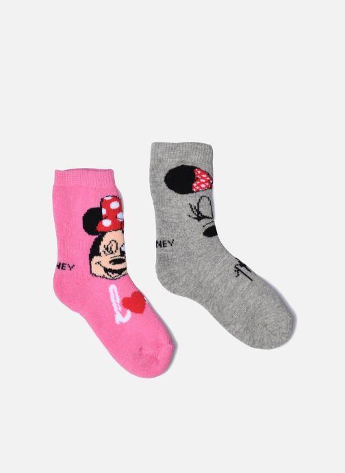 Chaussettes et collants Disney Chaussettes Bouclettes Minnie Lot de 2 Rose vue détail/paire