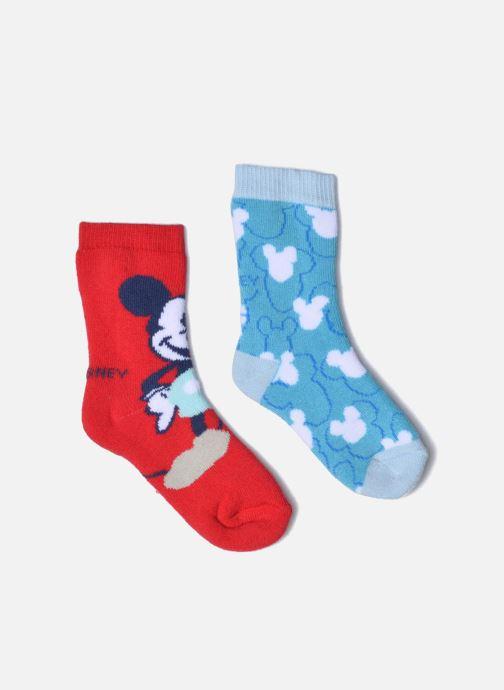 Sokken en panty's Disney Chaussettes Bouclettes Mickey Lot de 2 Multicolor detail