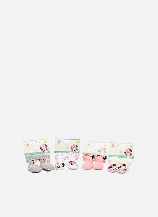 Socks & tights Disney Chaussettes Bouclette Bébé Lot de 4 Minnie White detailed view/ Pair view