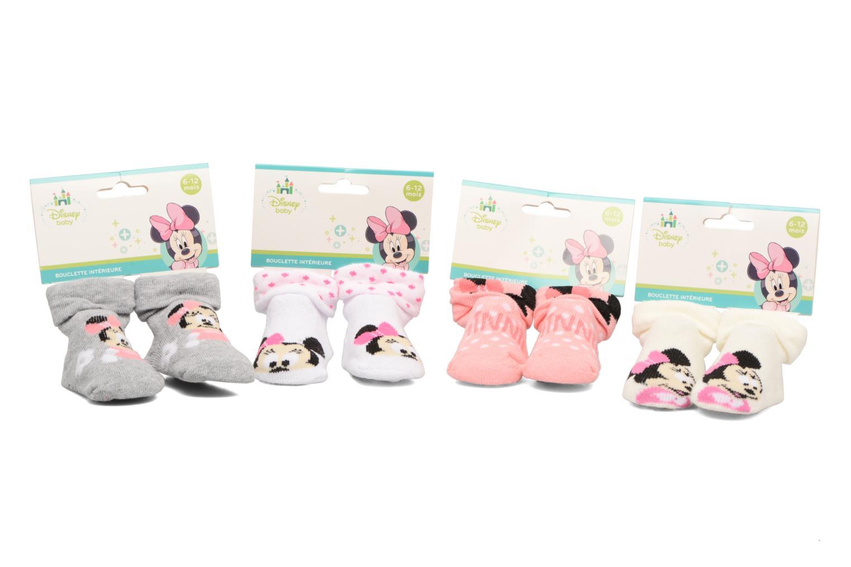 Sokken en panty's Disney Chaussettes Bouclette Bébé Lot de 4 Minnie Wit detail