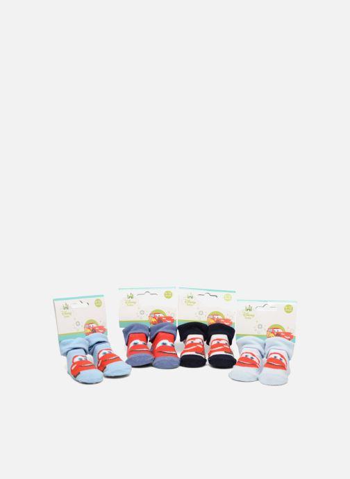 Sokken en panty's Disney Chaussettes Bébé Lot de 4 Cars Blauw detail