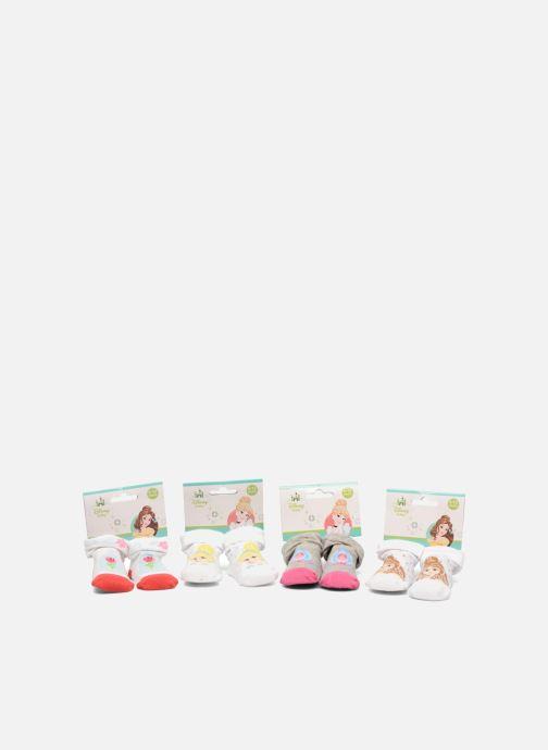 Chaussettes et collants Disney Chaussettes Bébé Lot de 4 Princesse Blanc vue détail/paire