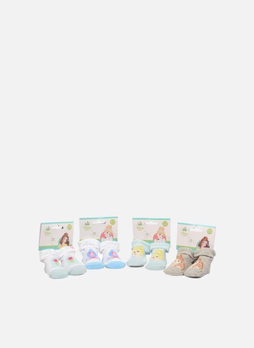 Sokken en panty's Disney Chaussettes Bébé Lot de 4 Princesse Blauw detail