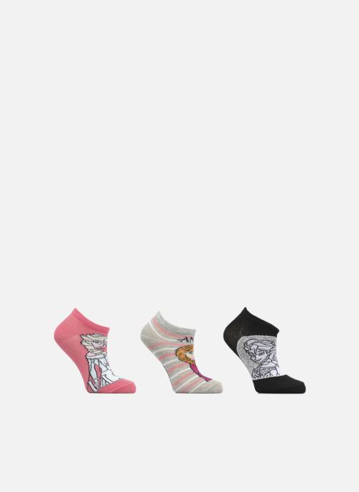 Socken & Strumpfhosen Disney Chaussettes Basses Lot de 3 Reine des neiges rosa detaillierte ansicht/modell