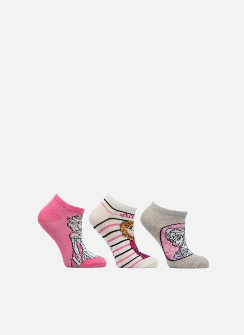 Socken & Strumpfhosen Disney Chaussettes Basses Lot de 3 Reine des neiges mehrfarbig detaillierte ansicht/modell