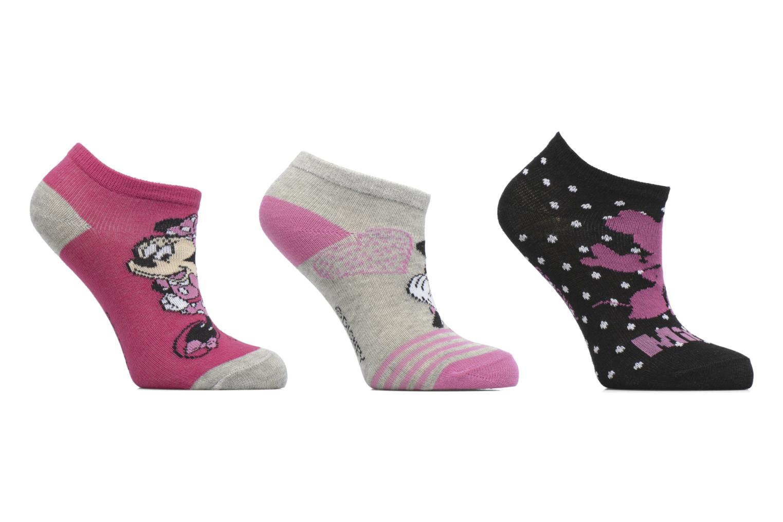 Sokken en panty's Disney Chaussettes Basses Lot de 3 Minnie Zwart detail