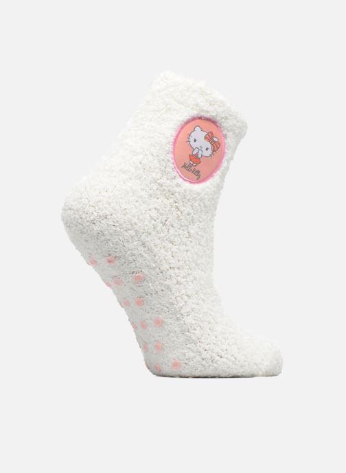 Chaussettes et collants Disney Chaussons-Chaussettes Anti-dérapant Hello Kitty Blanc vue détail/paire