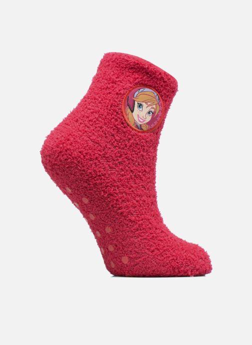 Chaussettes et collants Disney Chaussons-Chaussettes Anti-dérapant Reine des neiges Rose vue détail/paire