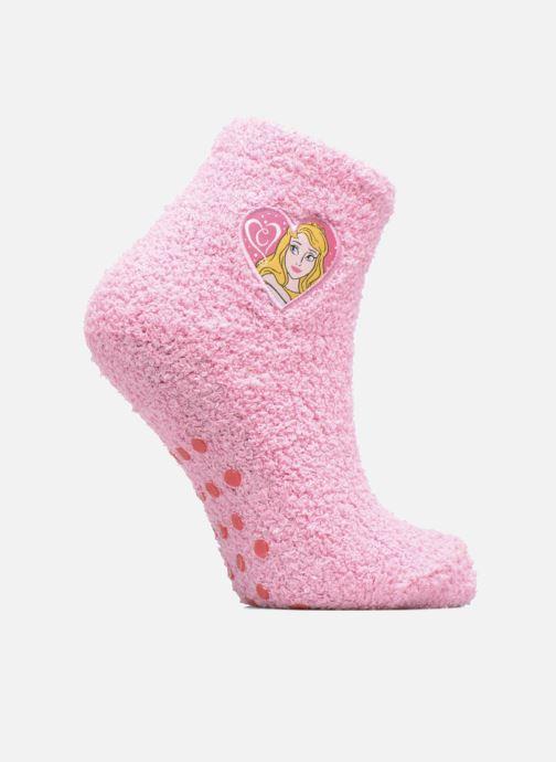 Chaussettes et collants Disney Chaussons-Chaussettes Anti-dérapant Belle au bois dormant Rose vue détail/paire