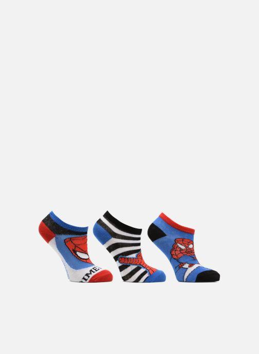 Sokken en panty's Disney Chaussettes Basses Lot de 3 Spiderman Blauw detail