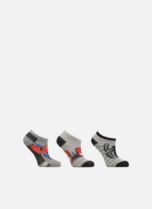 Socks & tights Disney Chaussettes Basses Lot de 3 Spiderman Grey detailed view/ Pair view