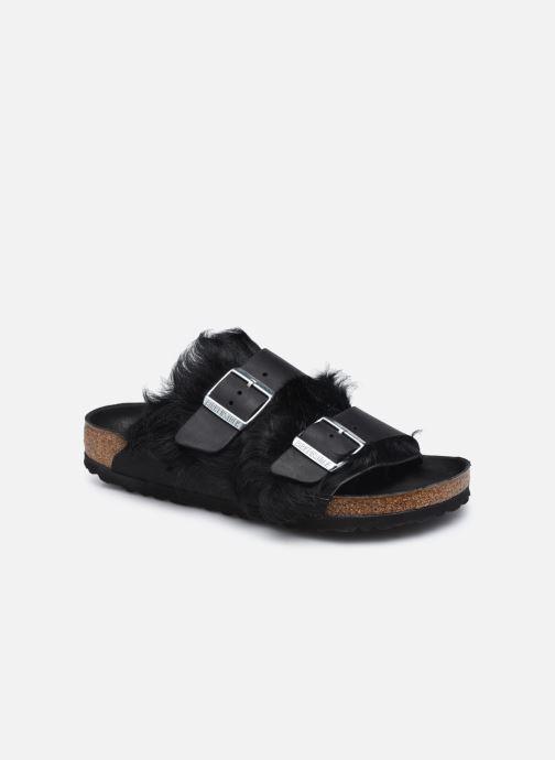 Pantofole Birkenstock Arizona Fur Nero vedi dettaglio/paio