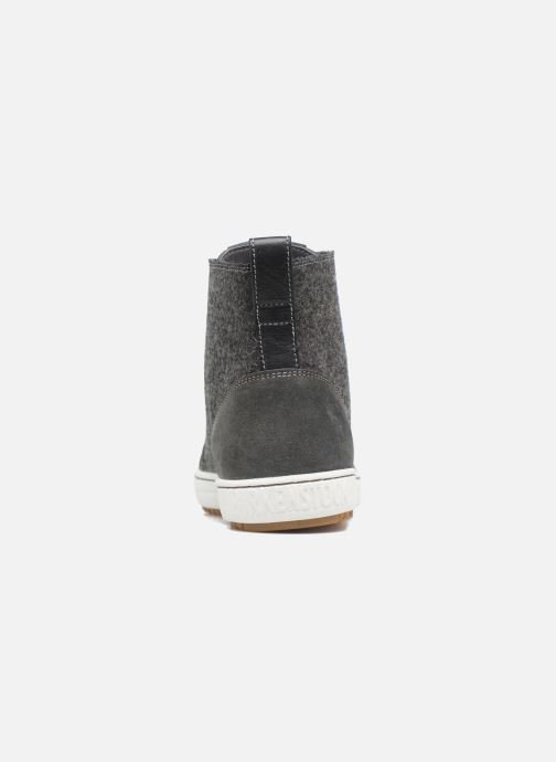 Trainers Birkenstock Barlett Feutre Grey view from the right