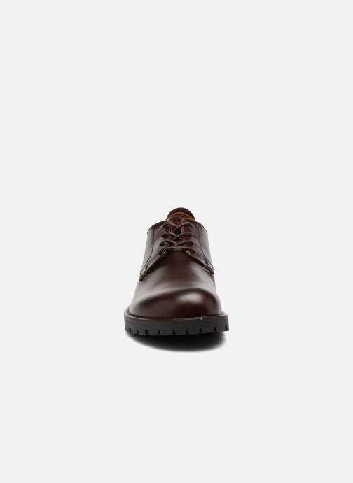 Schnürschuhe Birkenstock Gilford Cuir braun schuhe getragen