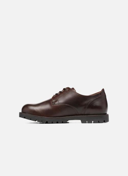 Chaussures à lacets Birkenstock Gilford Cuir Marron vue face