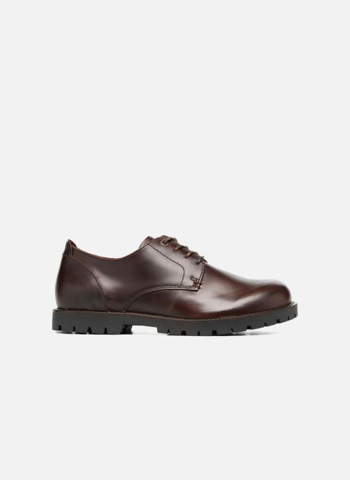 Chaussures à lacets Birkenstock Gilford Cuir Marron vue derrière