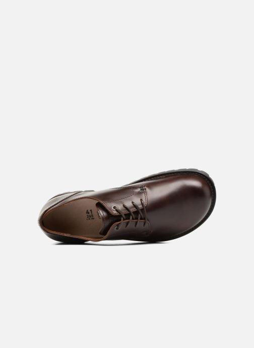 Chaussures à lacets Birkenstock Gilford Cuir Marron vue gauche
