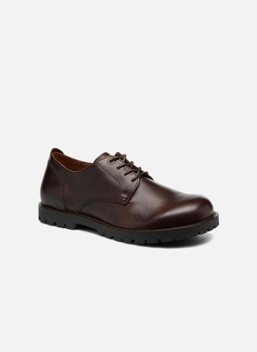 Chaussures à lacets Birkenstock Gilford Cuir Marron vue détail/paire