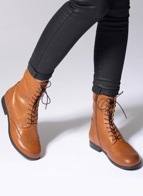 Stiefeletten & Boots Birkenstock Laramie schwarz ansicht von unten / tasche getragen