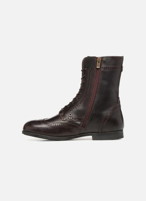 Boots en enkellaarsjes Birkenstock Laramie Bruin voorkant