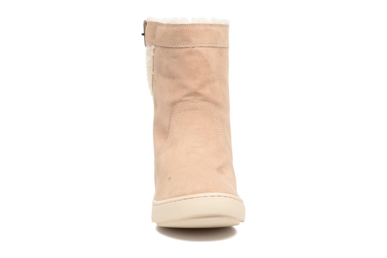 Boots & wellies Roxy Black Mid Beige model view