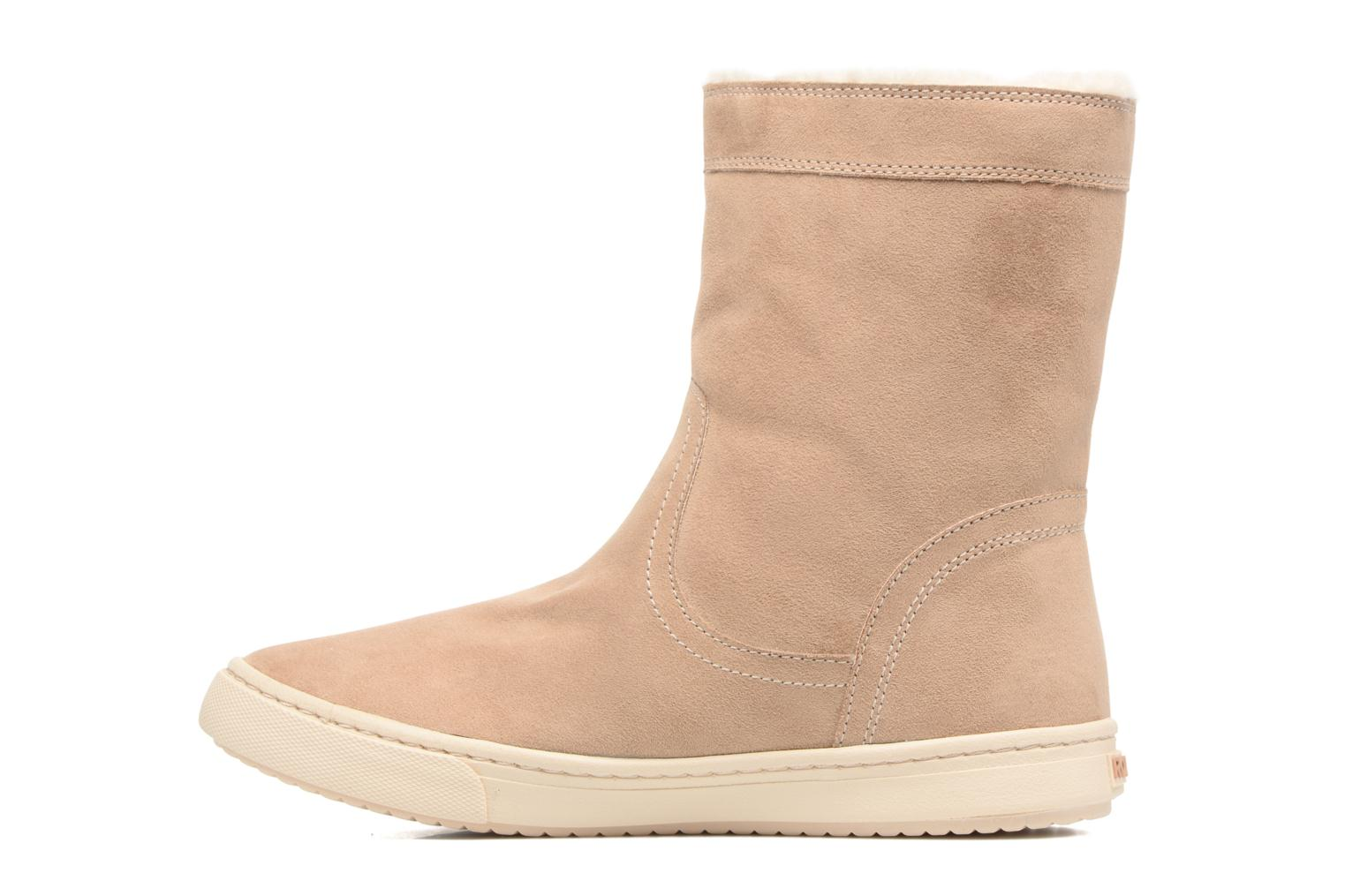 Boots & wellies Roxy Black Mid Beige front view