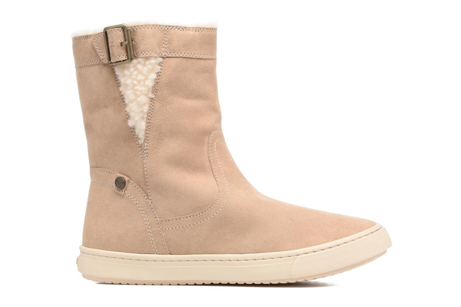 Boots & wellies Roxy Black Mid Beige back view