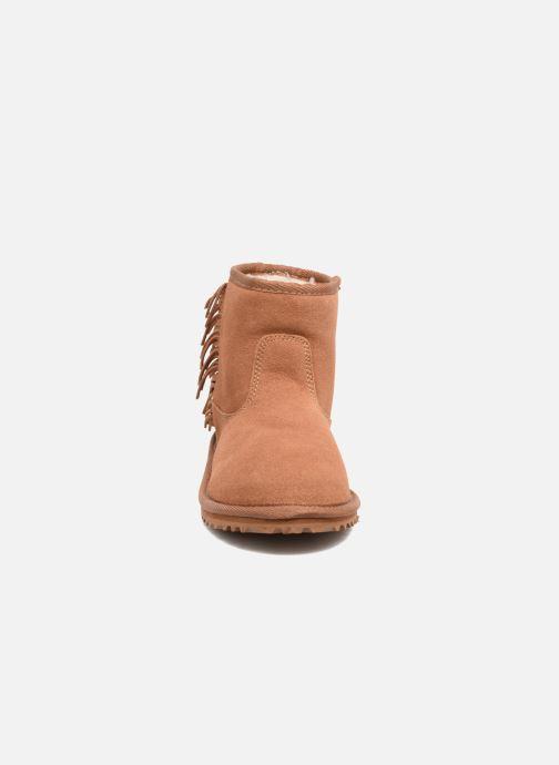 Bottines et boots Roxy Joyce Marron vue portées chaussures