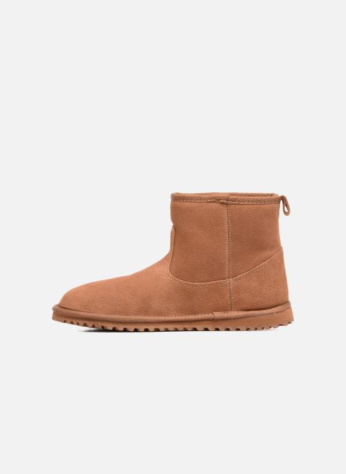 Bottines et boots Roxy Joyce Marron vue face