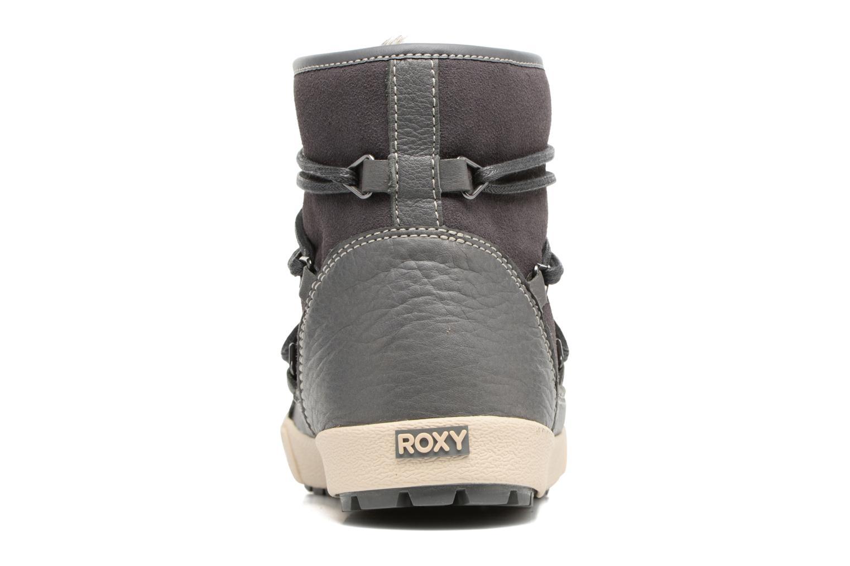 Botines  Roxy Darwin Gris vista lateral derecha