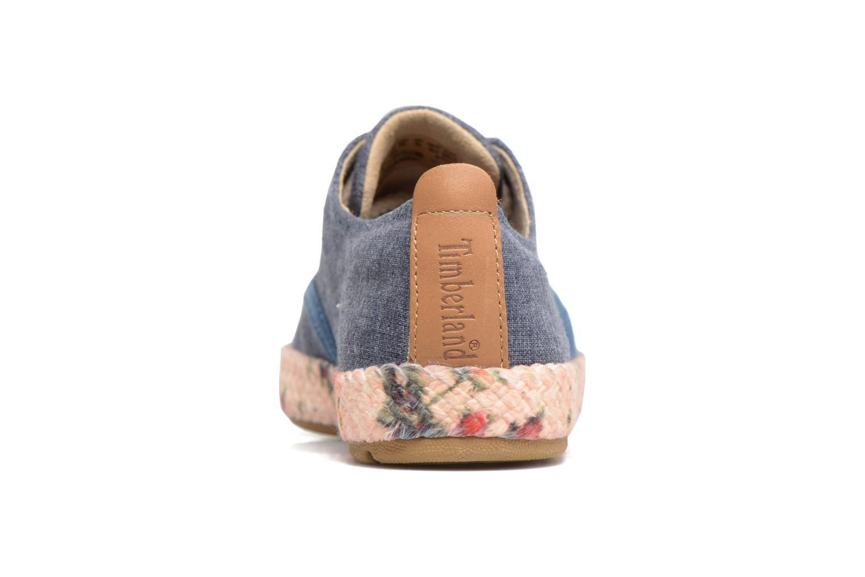 Sneaker Timberland Casco Bay Fabric Oxford blau ansicht von rechts