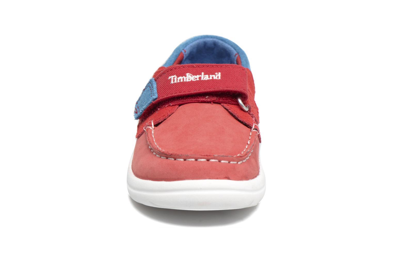 Sneaker Timberland Toddletracks Boat Sh rot schuhe getragen