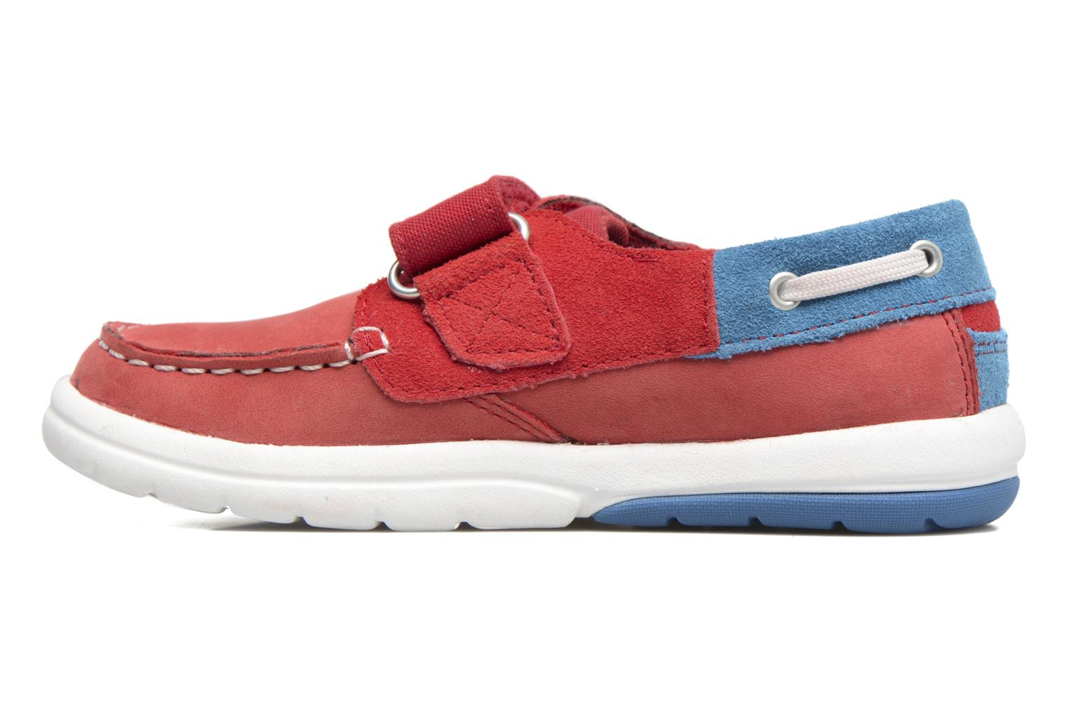 Baskets Timberland Toddletracks Boat Sh Rouge vue face