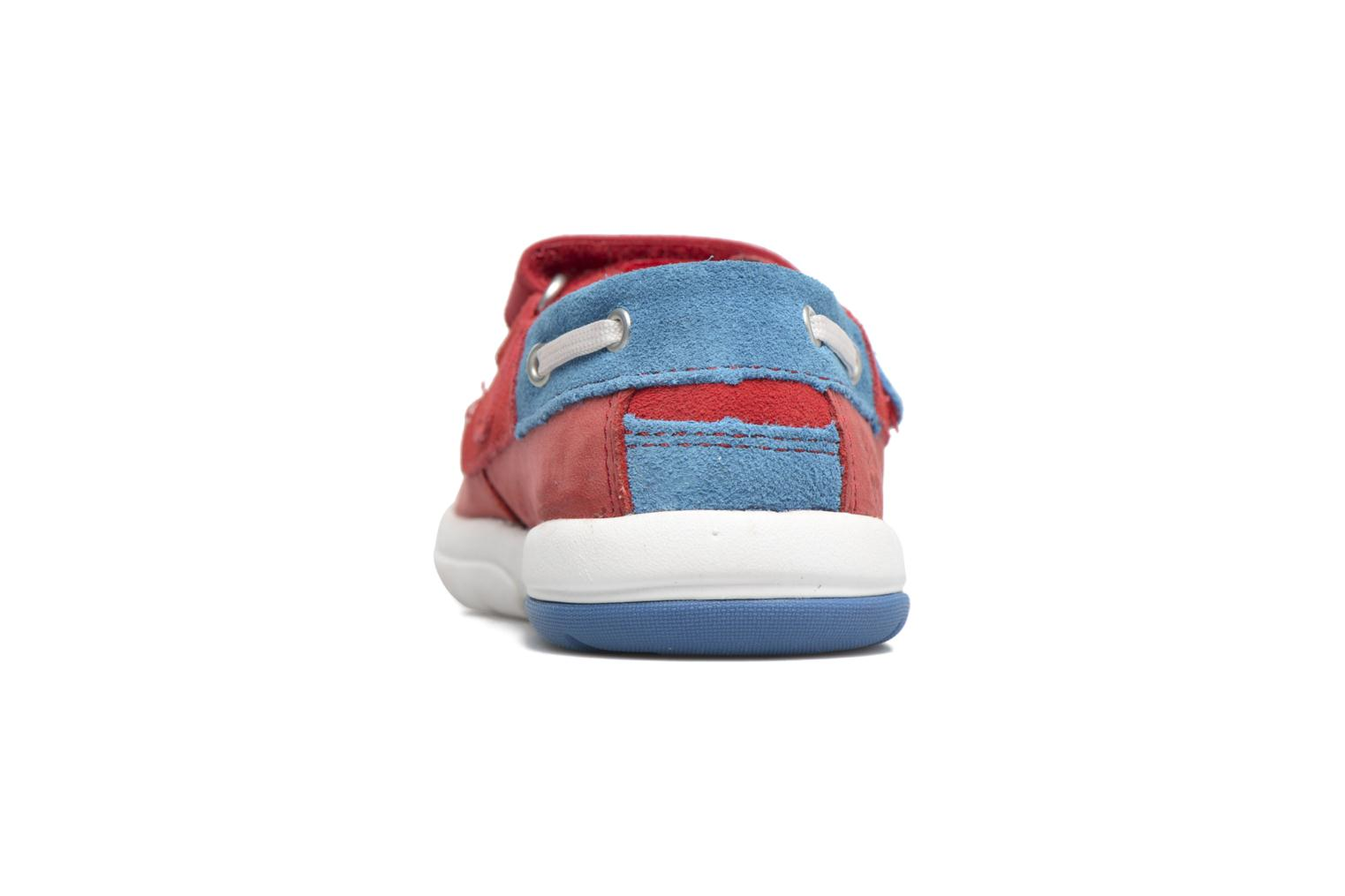 Baskets Timberland Toddletracks Boat Sh Rouge vue droite