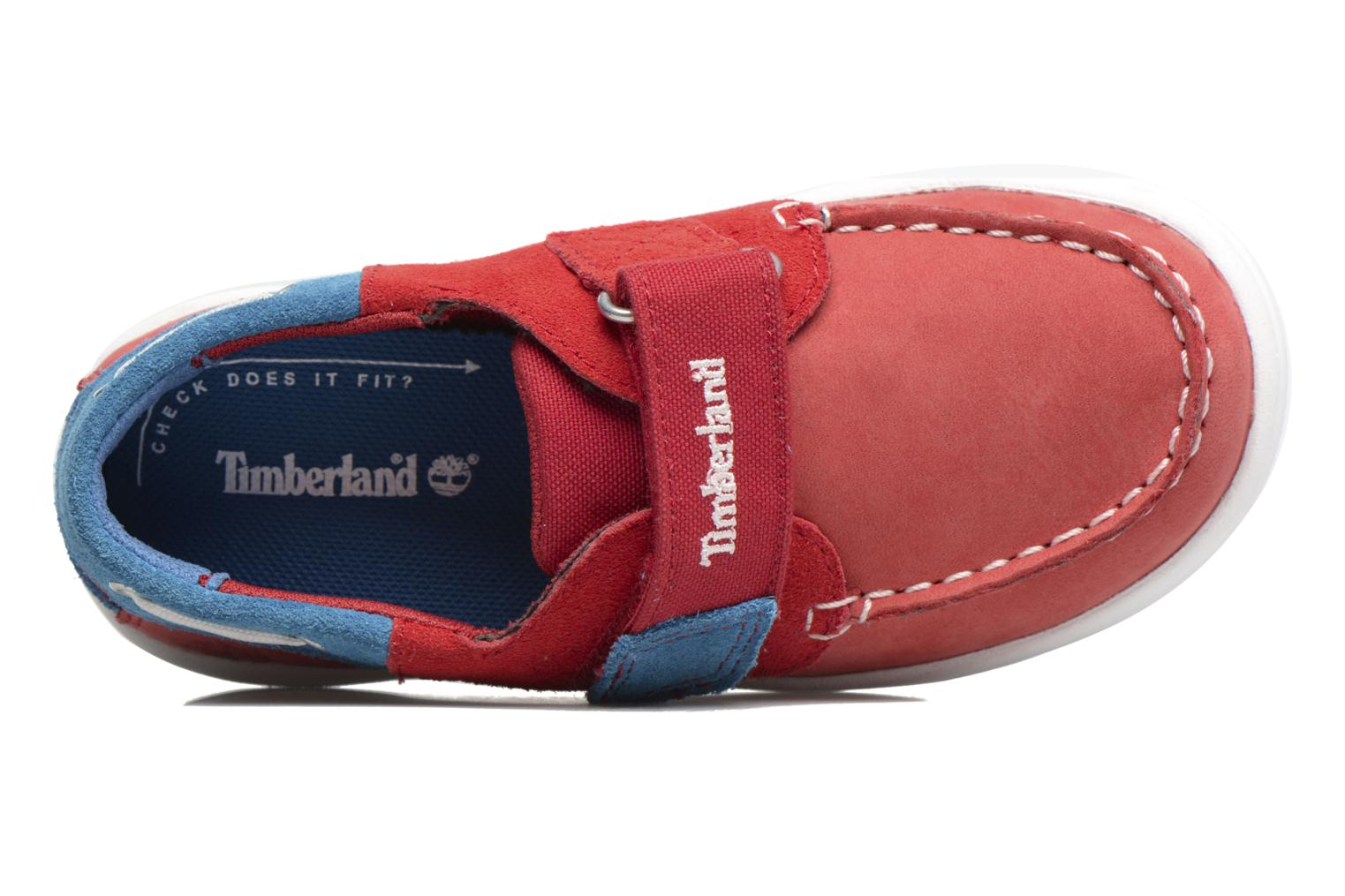 Sneaker Timberland Toddletracks Boat Sh rot ansicht von links