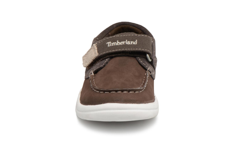 Sneaker Timberland Toddletracks Boat Sh braun schuhe getragen