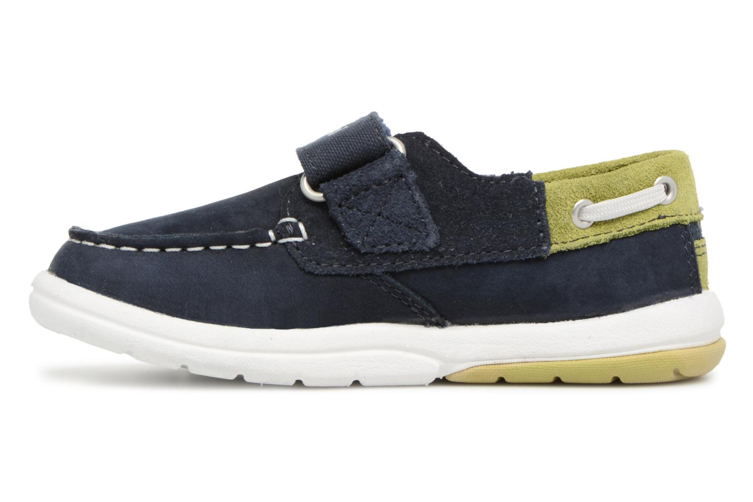 Trainers Timberland Toddletracks Boat Sh Blue front view