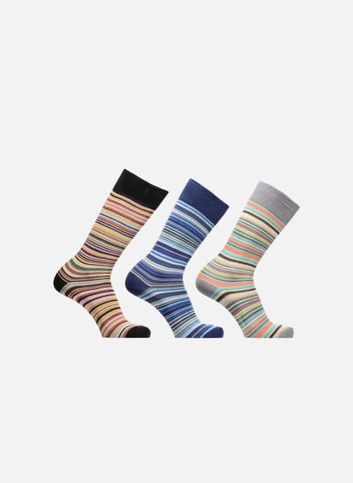 Sokken en panty's PS Paul Smith Chaussettes rayées Lot de 3 Multicolor detail